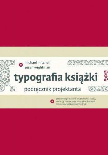 Okładka książki Typografia książki. Podręcznik projektanta