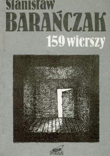 Okładka książki 159 wierszy: 1968-1988