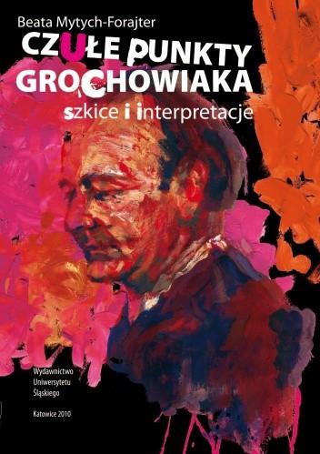 Okładka książki Czułe punkty Grochowiaka. Szkice i interpretacje