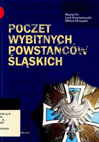 Okładka książki Poczet wybitnych powstańców śląskich