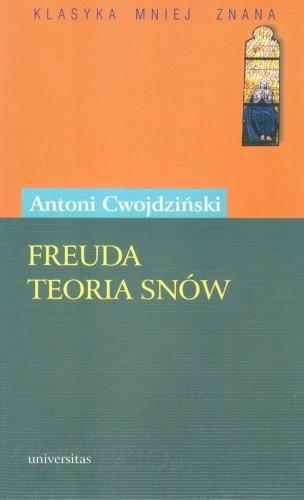 Okładka książki Freuda teoria snów