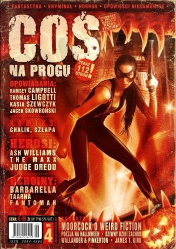 Okładka książki Coś na Progu, nr 4 (wrzesień/październik)