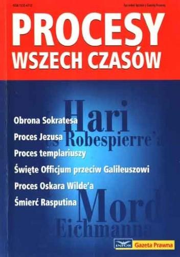Okładka książki Procesy wszech czasów