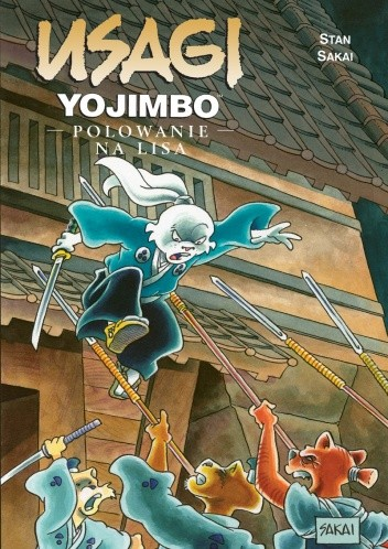 Okładka książki Usagi Yojimbo: Polowanie na lisa