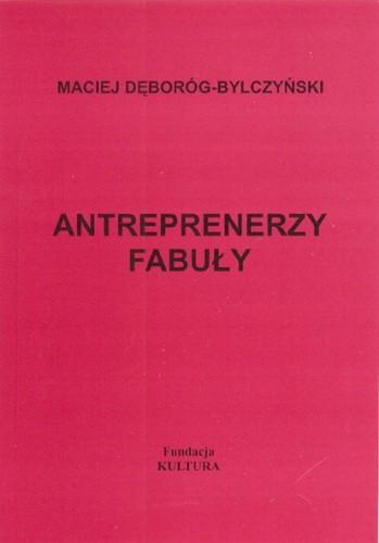 Okładka książki Antreprenerzy fabuły