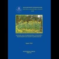 Okładka książki Badania nad zwiększeniem wydajności barwnikowych ogniw słonecznych
