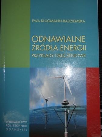 Okładka książki Odnawialne Źródła Energii Przykłady Obliczeniowe
