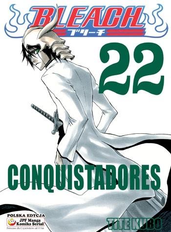 Okładka książki Bleach 22. Conquistadores