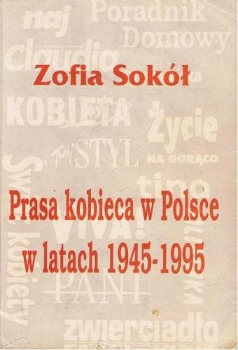 Okładka książki Prasa kobieca w Polsce w latach 1945-1995