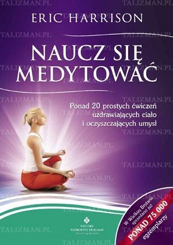 Okładka książki Naucz się medytować