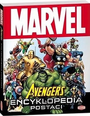 Okładka książki The Avengers. Encyklopedia postaci