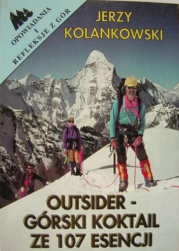 Okładka książki Outsider - Górski koktail ze 107 esencji