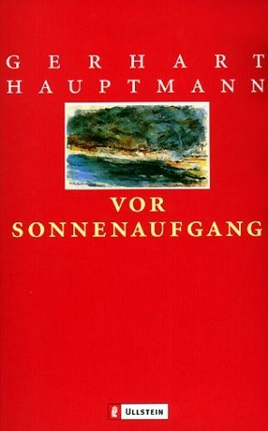 Okładka książki Vor Sonnenaufgang