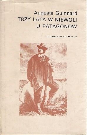 Okładka książki Trzy lata w niewoli u Patagonów