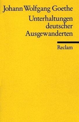 Okładka książki Unterhaltungen deutscher Ausgewanderten