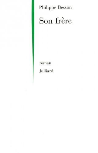 Okładka książki Son frère