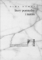 Okładka książki Litery pomiędzy i razem