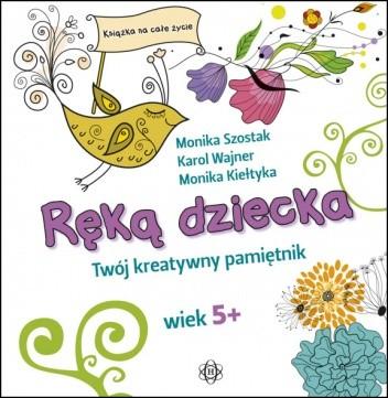 Okładka książki Ręką dziecka