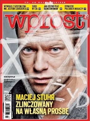 Okładka książki Wprost, nr 47/2012