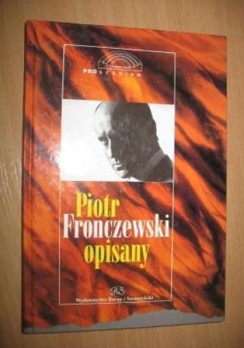 Okładka książki Piotr Fronczewski opisany
