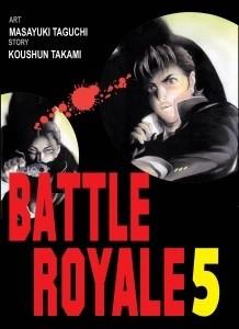 Okładka książki Battle Royale 5