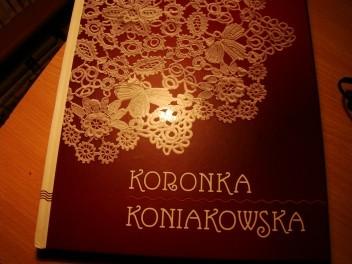 Okładka książki Koronka koniakowska