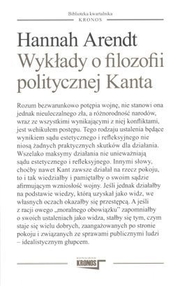 Okładka książki Wykłady o filozofii politycznej Kanta