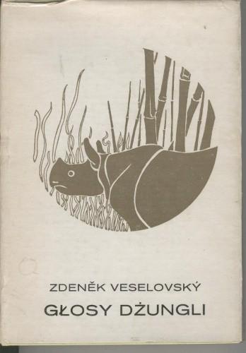 Okładka książki Głosy dżungli
