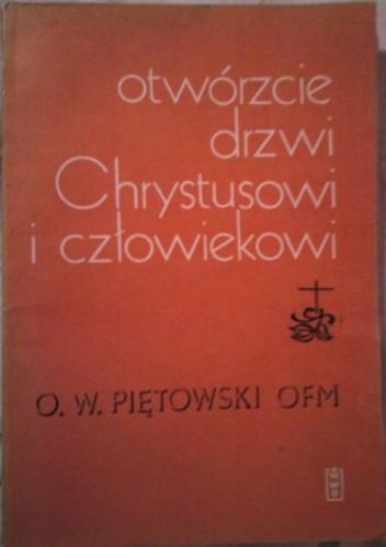 Okładka książki Otwórzcie drzwi Chrystusowi i człowiekowi