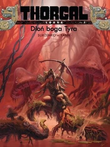 Okładka książki Thorgal - Louve: Dłoń boga Tyra