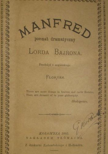 Okładka książki Manfred