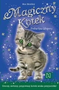 Okładka książki Magiczny Kotek. Podwójne kłopoty