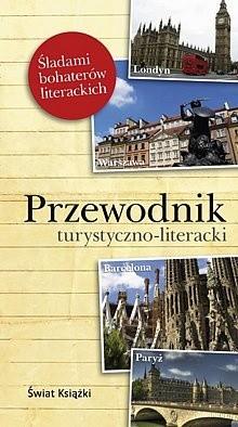 Okładka książki Przewodnik turystyczno - literacki