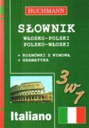 Okładka książki Słownik 3w1 włosko-polski, polsko-włoski Słownik 3w1 włosko-polski, polsko-włoski