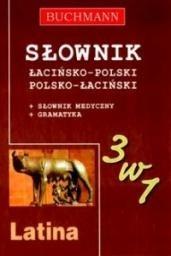 Okładka książki Słownik 3w1 łacińsko-polski, polsko-łaciński
