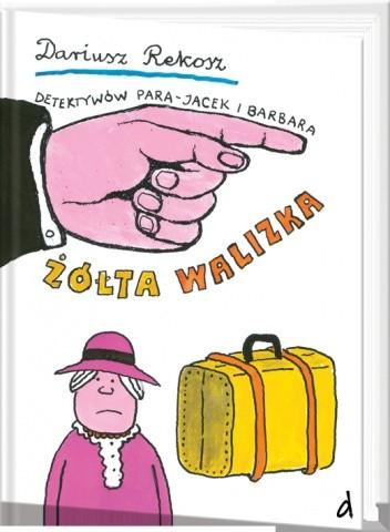 Okładka książki Żółta walizka