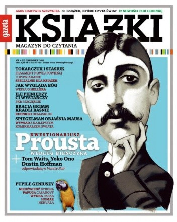 Okładka książki Książki. Magazyn do czytania, nr 7 / grudzień 2012