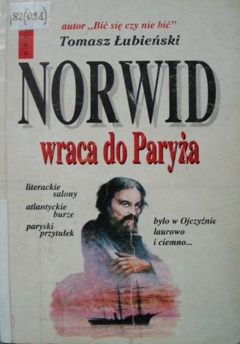 Okładka książki Norwid wraca do Paryża
