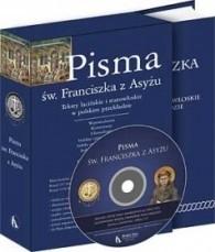 Okładka książki Pisma św. Franciszka z Asyżu