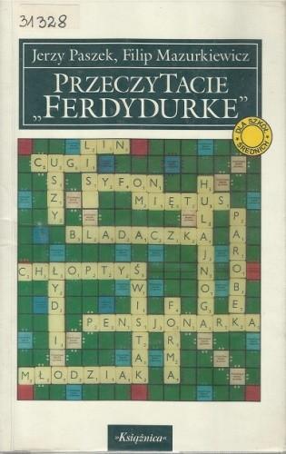 """Okładka książki PrzeczyTacie """"Ferdydurke"""""""