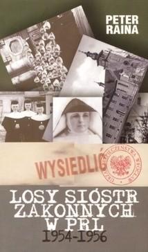 Okładka książki Losy sióstr zakonnych w PRL 1954-1956