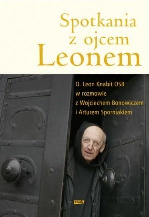 Okładka książki Spotkania z ojcem Leonem