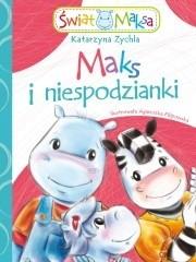 Okładka książki Maks i niespodzianki