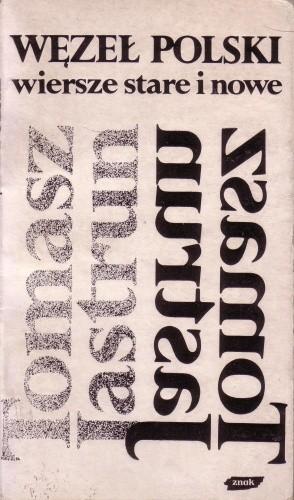 Okładka książki Węzeł polski wiersze stare i nowe
