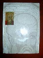 Okładka książki Techniki malarskie. Spoiwa mineralne