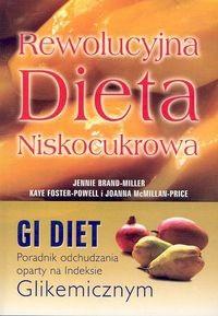 Okładka książki Rewolucyjna Dieta Niskocukrowa, poradnik odchudzania oparty na Indeksie Glikemicznym