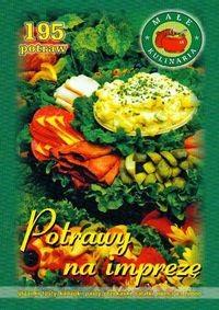 Okładka książki Potrawy na imprezę