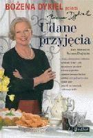 Okładka książki Udane przyjęcia. Poleca Bożena Dykiel