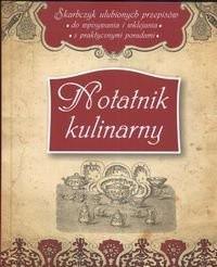 Okładka książki Notatnik kulinarny