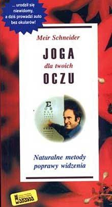Okładka książki Joga dla twoich oczu